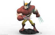 Wolverine Thomas Sincich Disney Infinity Characters Wolverine Superhero Villains