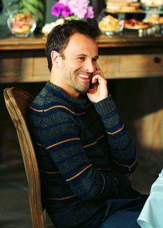 """Jonny Lee Miller as Sherlock Holmes in CBS's """"Elementary"""""""