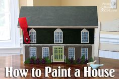 Paint Your Own Home (on a mailbox or other materials) by Pretty Handy Girl