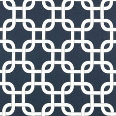 Premier Prints Fabric Gotcha in Navy Blue and White Twill - Half Yard on Etsy, $5.00