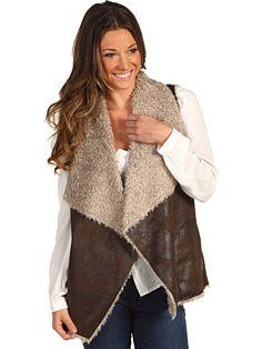 Velvet vest