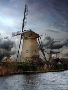 Dutch Windmills - Pixdaus