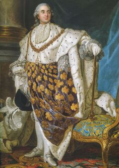 Duplessis: Louis XVI in Coronation Robes, after Art Print Louis Xvi, Roi Louis, Musee Carnavalet, Oil On Canvas, Canvas Prints, French Royalty, French History, Paris Ville, Old Paintings