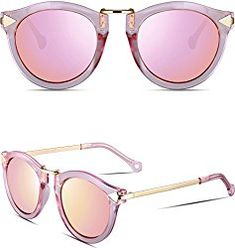 8fb8659b49 us  ATTCL Vintage Fashion Round Arrow Style Wayfarer Polarized Sunglasses  for Women Sunglasses   Eyew