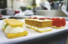 Life as a Pastry Student: Plated Desserts