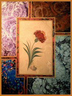 Ebru Art, Anima Mundi, Turkish Art, Homemade Muesli, 3d Drawings, Moroccan Decor, Cool Wallpaper, Potpourri, Islamic Art