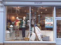 Our lovely new jellyfish window at Seasalt, April 2015.