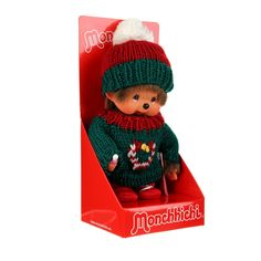 "colette MONCHHICHI Monchhichi ""Joyeux Noël"""