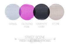 gray | fresh hues | color + inspiration