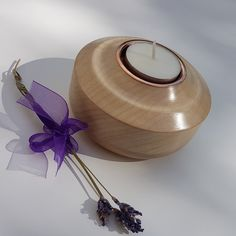 Woodturning, Handcrafted Tea Light Holder, Turned From Ash Wood Resin Jewelry, Unique Jewelry, Wood Turning Projects, Tea Light Holder, Natural Oils, Wood Crafts, Tea Lights, Woodworking Projects, Candle Holders