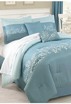 I like this comforter set and especially the color