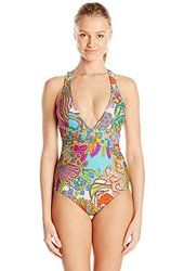 Trina Turk Women's Coral Reef One-Piece Swimsuit