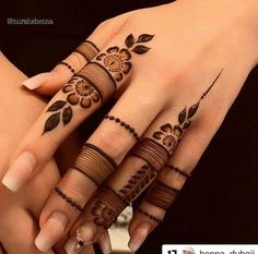 Most beautiful and easy mehndi designs See more ideas about Henna designs easy, Henna designs and Henna. How to Do Henna Design for B. Finger Mehendi Designs, Back Hand Mehndi Designs, Mehndi Designs 2018, Mehndi Designs For Girls, Mehndi Design Photos, Mehndi Designs For Fingers, Mehndi Designs For Hands, Mehndi Fingers, Arabian Mehndi Design