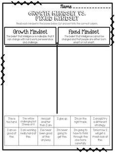 Growth Mindset FREEBIES!                                                                                                                                                      More