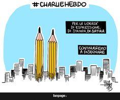 From Italy to Charlie.  Carlie Hebdo
