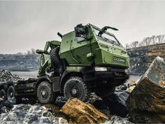 Canadian Forces Mack Truck, 2016