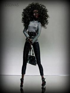 <0> BEAUTIFUL PEOPLE ANNIK | by DsDivas Ebony Models, Black Barbie, Cute Dolls, Fashion Models, Beautiful People, African, Amazing, Models, Fashion