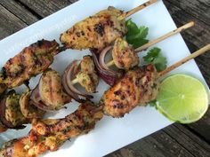 Citrus-Herb Chicken Kabobs - AIP - cook under broiler on a cookie rack