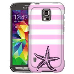 Samsung Galaxy S5 Active Starfish Pink Slim Case