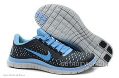 http://www.getadidas.com/nike-women-free-run-30-v4-black-blue-running-shoes-discount.html NIKE WOMEN FREE RUN 3.0 V4 BLACK BLUE RUNNING SHOES DISCOUNT Only $71.00 , Free Shipping!