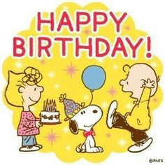 Happy Birthday Snoopy Images, Happy Birthday Charlie Brown, Funny Happy Birthday Song, Happy Birthday Wishes For A Friend, Happy Birthday Blue, Son Birthday Quotes, Snoopy Birthday, Happy Birthday Wishes Cards, Snoopy Pictures