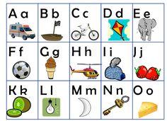 montessorimaterial - alfabetsplansch