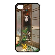 Japanese Anime Spirited Away Case for Iphone 4 4s Design 012