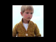 Tiernos suéter para niños tejidos a crochet. - YouTube
