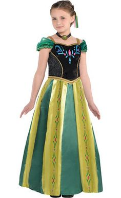 Create Your Own Girls' Anna Costume Accessories - Party City