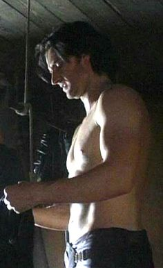 Richard Armitage - that face... that hair...that chest...those arms...that profile...that...Gretchen, Lennie...bring the wine quickly!