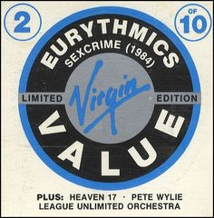 "For Sale - Eurythmics Sexcrime 1984 UK  3"" CD single (CD3) - See this and 250,000 other rare & vintage vinyl records, singles, LPs & CDs at http://eil.com"