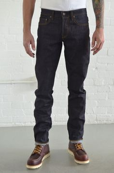 BARTON SLIM RIGID INDIGO