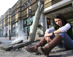 We marked the anniversary of the Syrian conflict by bombarding the public with the shocking reality of what Syrians face on a daily basis. By planting a . Dublin City, Centre, Bring It On, Planting, Boots, Face, Cities, Goal, Highlights