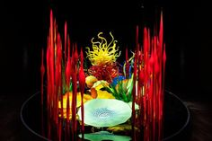 dale chihuly glass sculptures art