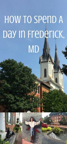 Get out and explore Frederick, MD. Here's how!!  What to do in Maryland | Maryland Road Trip | Things to do in Maryland