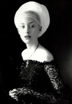 """Infanta Style"" photographed by Paolo Roversi for Vogue Italia 1997"