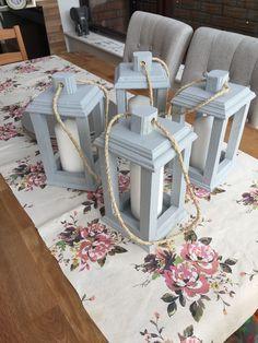 DIY wood lanterns, pallet lanterns, pallet project, scrap wood - Fashion for Women Wooden Lanterns, Lanterns Decor, Ideas Lanterns, Into The Woods, Pallet Crafts, Wooden Crafts, Diy Pallet, Diy Crafts, Scrap Wood Projects