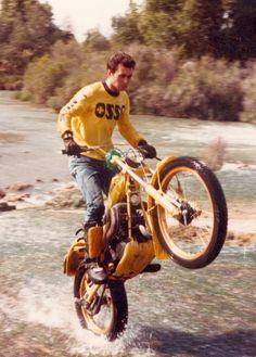 Street Tracker, Vintage Bikes, Vintage Motorcycles, Triumph Motorcycles, Cars And Motorcycles, Flat Track Racing, Trial Bike, My Past Life, Vintage Motocross
