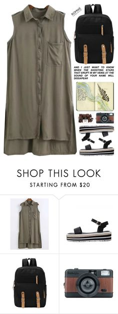 """""""eruption in my veins"""" by scarlett-morwenna ❤ liked on Polyvore featuring Moleskine and vintage"""