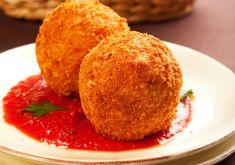Arancini di Riso & Martino's Marinara Sauce recipes from W Network