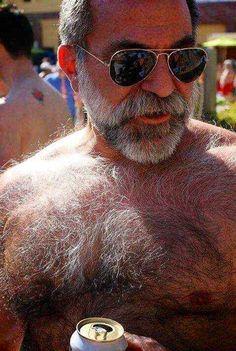 Mature gay older hairy men
