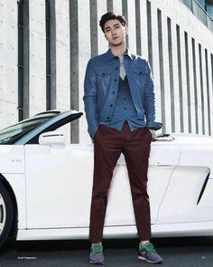 [PIC] 150409 Audi Magazine - Siwon (1)