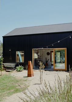 Shed Design, House Design, Living In A Shed, Workshop Architecture, Tiny House, Industrial Sheds, Steel Sheds, Forest Cottage, Water House