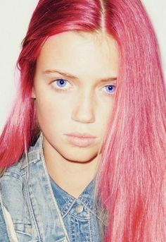 these hair, those eyes.. #nastygal #minkpink