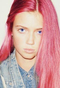 this hair, those eyes..
