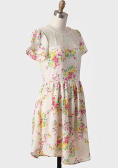 Southern Belle Floral Dress | Modern Vintage New Arrivals