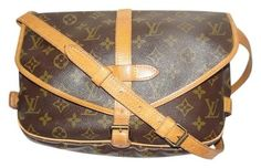 Louis Vuitton Saumur 30 Cross Body Monogram Messenger Bag. Get one of the hottest styles of the season! The Louis Vuitton Saumur 30 Cross Body Monogram Messenger Bag is a top 10 member favorite on Tradesy. Save on yours before they're sold out!