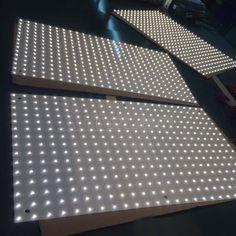 Customized sizes LED backlight illuminated LED panel