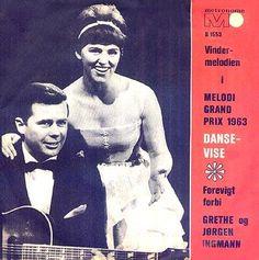 """Grethe & Jorgen Ingmann, Dansevise"""", winner song of the Eurovision Song Contest 1963"""