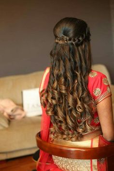 20 Best Hairstyles For Lehenga Images Indian Wedding Hairstyles Hair Styles Indian Hairstyles